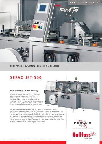 Automatic High-Speed Shrink Wrapper: SERVO JET 500