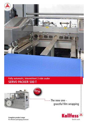Automatic Shrink Wrapping Machine: Servo Packer 500 T
