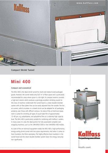 Compact Shrink Tunnel MINI 400