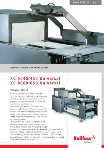 Compact Shrinker - KC 5040 Universal, KC 8060 Universal