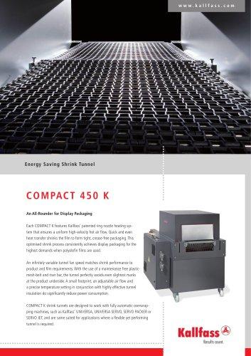 Energy Saving Shrink Tunnel - COMPACT 450 K