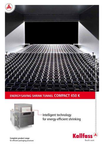 ENERGY-SAVING SHRINK TUNNEL COMPACT 450 K