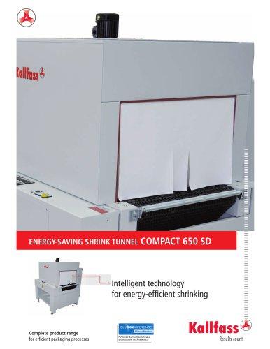 Energy Saving Shrink Tunnel: COMPACT 650 SD