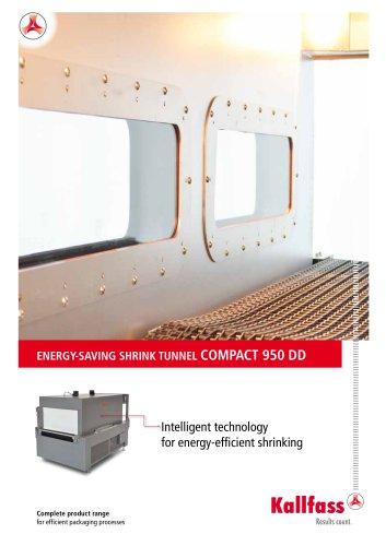 ENERGY-SAVING SHRINK TUNNEL COMPACT 950 DD