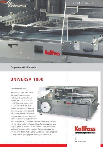 Fully-Automatic Side Sealer UNIVERSA 1000