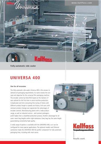 Fully-Automatic Side Sealer UNIVERSA 400