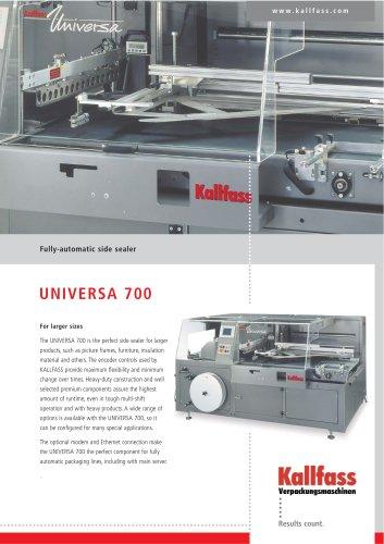Fully-Automatic Side Sealer UNIVERSA 700