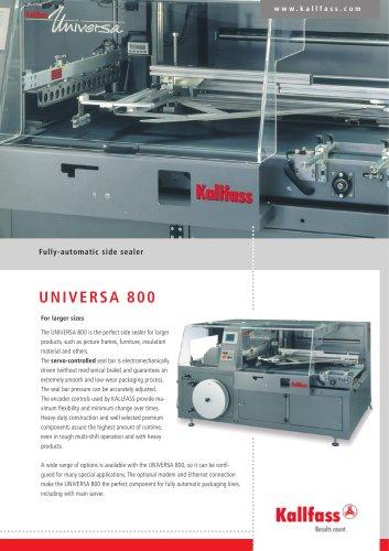 Fully-Automatic Side-Sealer - Universa 800