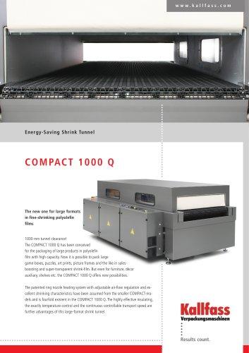 High-Performance Energy saving Shrink Tunnel - Compact 1000 Q