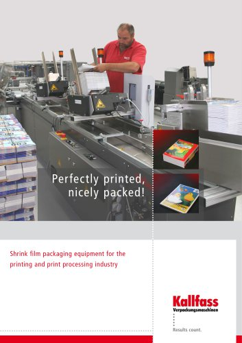 Print and paper brochure