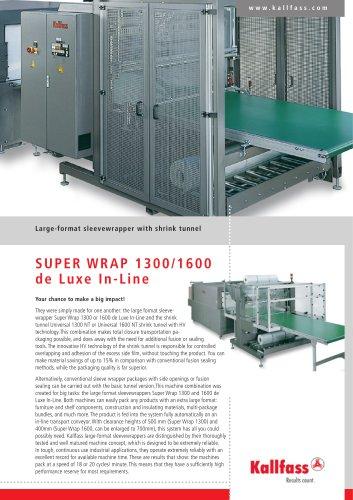 Super Wrap 1600 de Luxe in Line