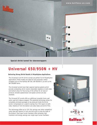 Universal 650/950N + HV