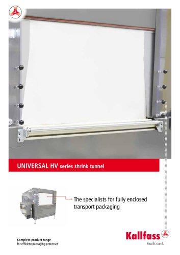 UNIVERSAL HV series shrink tunnel