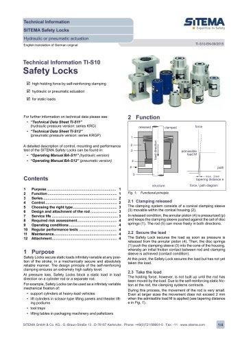 TI-S10 Safety Locks