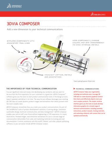 3dvia Composer 2013 Solidworks Europe Pdf Catalogs Technical Documentation Brochure