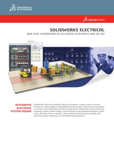 Solidworks Electrical Solidworks Europe Pdf Catalogs Technical Documentation Brochure