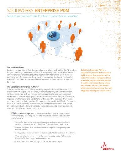 SolidWorks Enterprise PDM - Data sheet