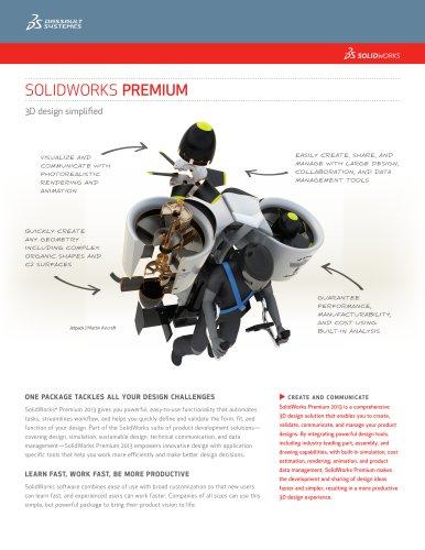 SolidWorks Premium Data Sheet