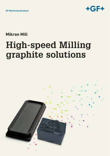 High-speed Milling graphite solutions