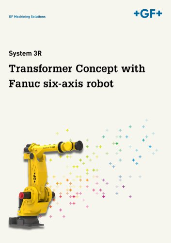Transformer Concept with Fanuc six-axis robot