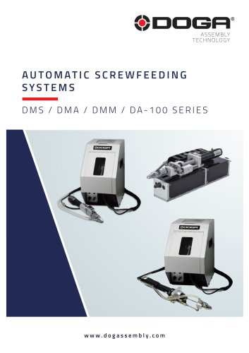 Automatic screw feeding systems