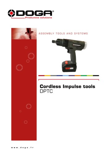 Cordless Impulse tools - DPTC Series