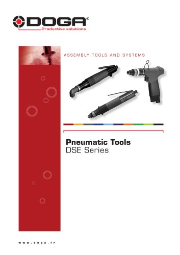 Pneumatic Tools - DSE Series