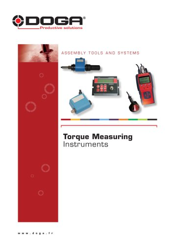 Torque measuring instruments
