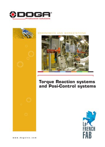 Torque Reaction systems and Posi-Control systems
