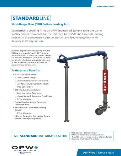 Short-Range Hose (SRH) Bottom Loading Arm