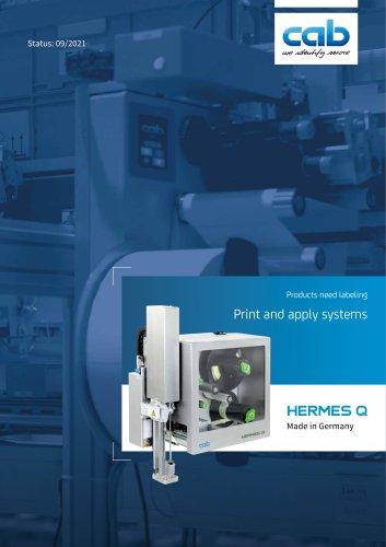Print and Apply System HERMES Q