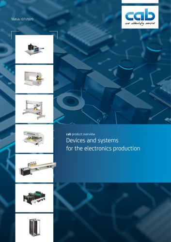 Products for the Electronic Industry