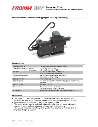 Pneumatic tools P350