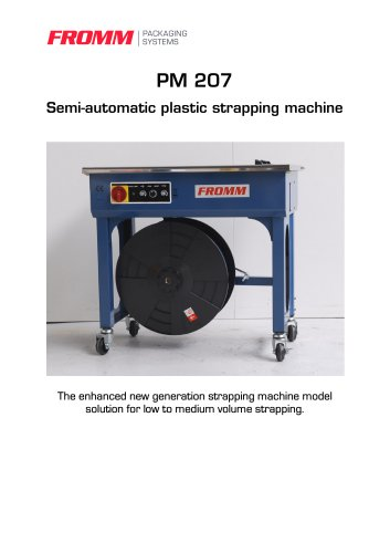Strapping machines PM207