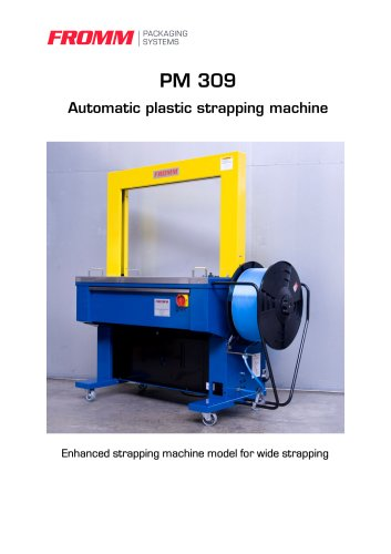 Strapping machines PM309