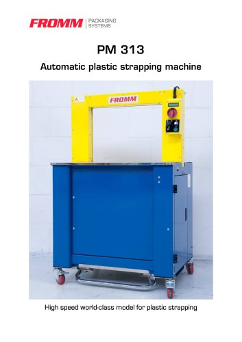 Strapping machines PM313