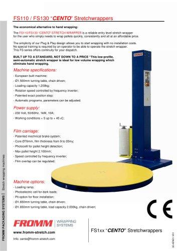 Stretch wrapping machines FS cento (FS 1x)