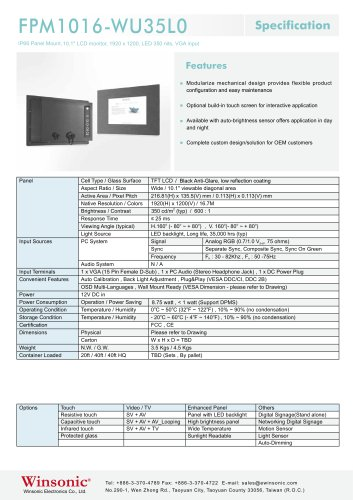 FPM1016-WU35L0