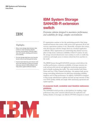 IBM System Storage SAN42B-R