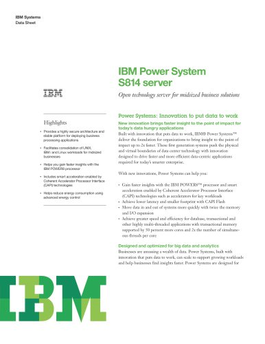 Power System S814
