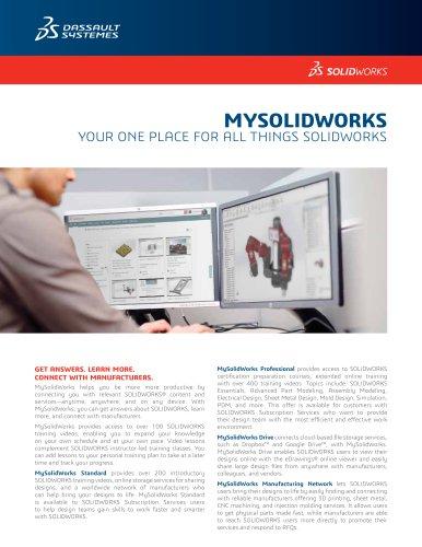 SOLIDWORKS MySolidWorks