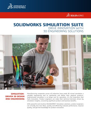 SOLIDWORKS SIMULATION SUITE