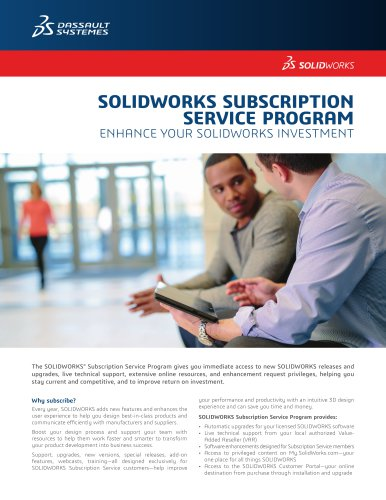 SOLIDWORKS Subscription