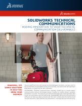 SOLIDWORKS Technical Communication Data Sheet - 1