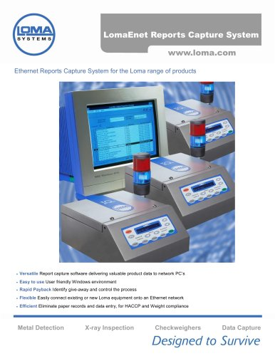 Data Capture Systems Lomaenet Loma Systems Pdf Catalogs Technical Documentation Brochure