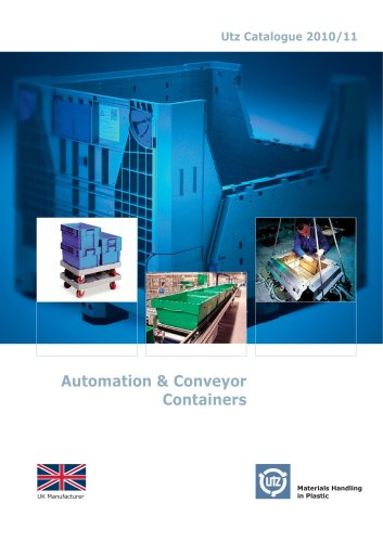 Automation & Conveyor Containers