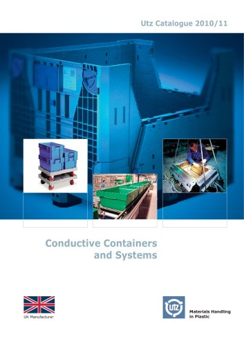 Conductive Containers and Systems ESD
