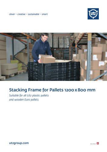 Stacking Frame for Pallets