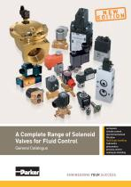 A Complete Range of Solenoid Valves for Fluid Control - 1