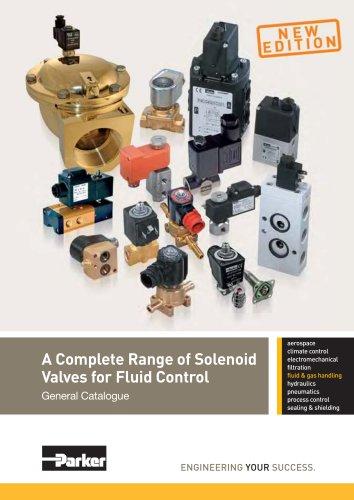 A Complete Range of Solenoid Valves for Fluid Control